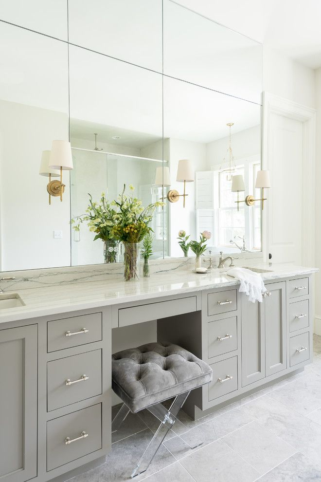 transitional antique brass vanity light master bath bathroom rh pinterest com