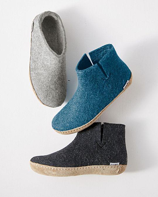 Glerups Wool Slippers