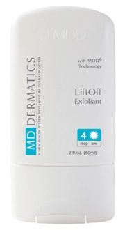 LiftOff Exfoliant Gold standard ingredients promote early removal of dead skin cells while boosting moisture content in the skin, allowing measurable improvements to the appearance of fine lines, action but with long lasting results. Benefits •10% buffered Glycolic Acid for reduced irritation. •Triggers formation of new collagen. •Turns on glycosaminoglycans synthesis to plump up cells . •Reduces corneocyte cohesion and corneum layer thickening.