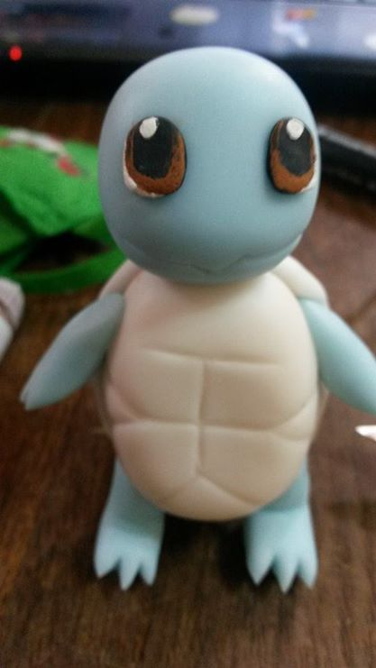Squirtle de Pokemon, echo de Porcelana fria