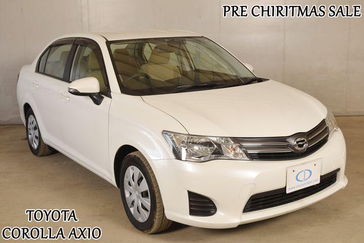 2012 Toyota Corolla Axio #Toyota #corolla #sedan #cars