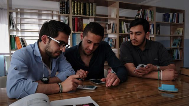 Apps, real-time translation services, and other online tools are helping Syrians and other refugees in Turkey forge new lives for themselves.