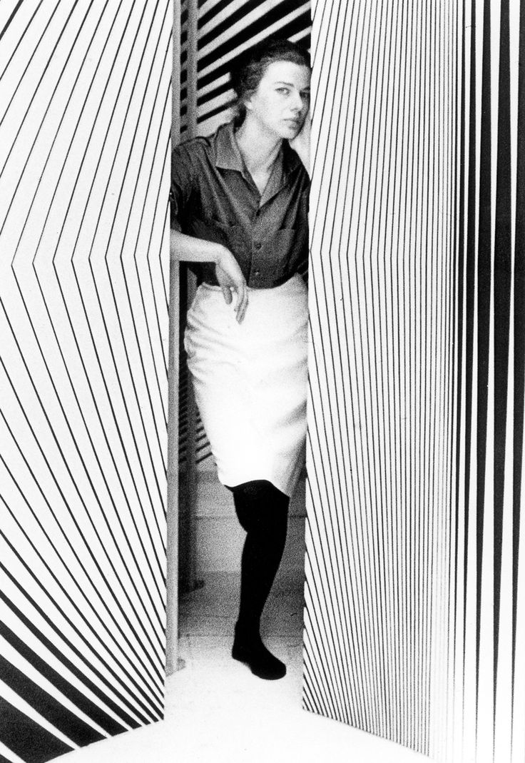 For fall, fashion designers including Kenzo and Christopher Kane channeled the eye-teasing Op Art of renowned British painter Bridget Riley.