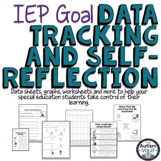 There is a myriad of reasons our special education students should self-reflect on their learning: it helps them learn important executive functioning skills, makes them aware of what goals they are working on, and gives them ownership of their learning. Read about how I help my students take control of their learning.