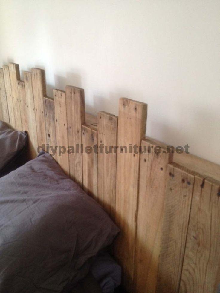 25 best tete de lit palette ideas on pinterest t te de - Fabriquer une tete de lit en palette ...