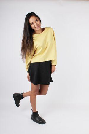 Pullover Claire Pastellgelb