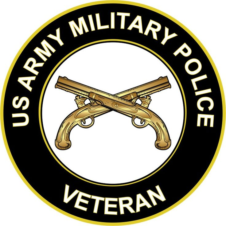 US Army Veteran Military Police Sticker Decal