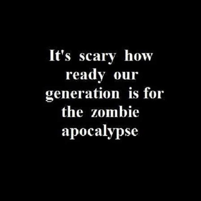 True, it is very scary.  Though I have always seen paranoia as a synonym of prepared.