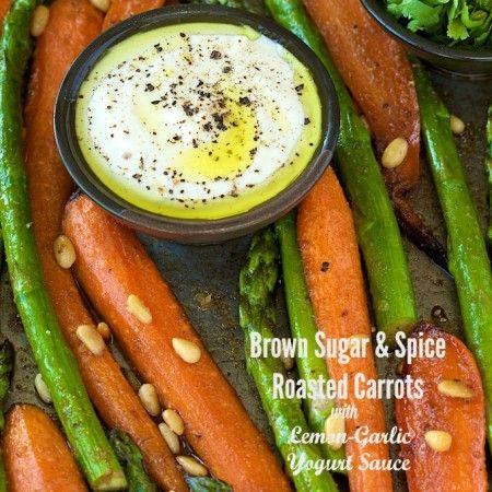 Brown Sugar & Spice Roasted Carrots w- Lemon-Garlic Yogurt Sauce (1).jpg