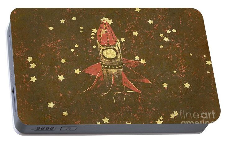 Flight Portable Battery Charger featuring the photograph Moon Landings And Childhood Memories by Jorgo Photography - Wall Art Gallery