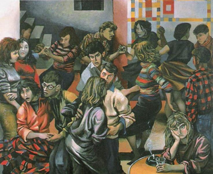 Renato Guttuso, Boogie Woogie, Oil on canvas, 169x205cm,  1953 (MART, Rovereto)