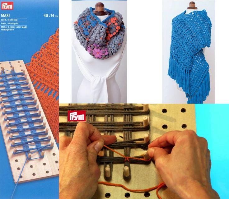 !TOTÁLNY VÝPREDAJ! | Loom MAXI, obdĺžnikové krosienko 48x14cm | ColorfulLmadeshop
