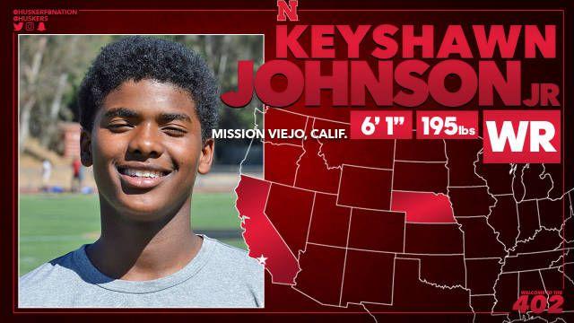 Keyshawn Johnson Jr. WR, 6-1, 195 Calabasas, Calif. (Calabasas HS)
