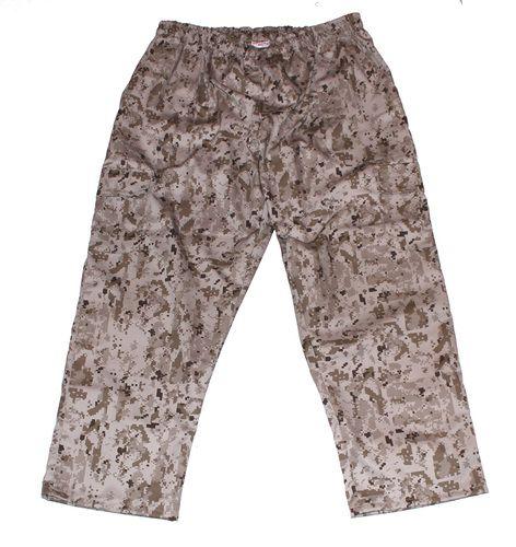 Камуфляжные брюки с карманами