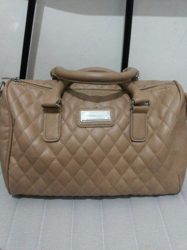 Brown Bowling Bag from Mango