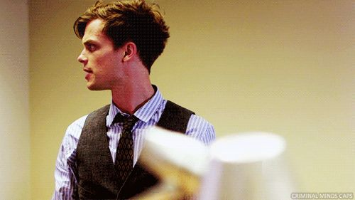 Here he is in profile... | Why Matthew Gray Gubler Is The Nerd Of Your Dreams