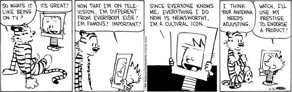 Calvin and Hobbes Comic Strip  for Sep/30/2014 on GoComics.com