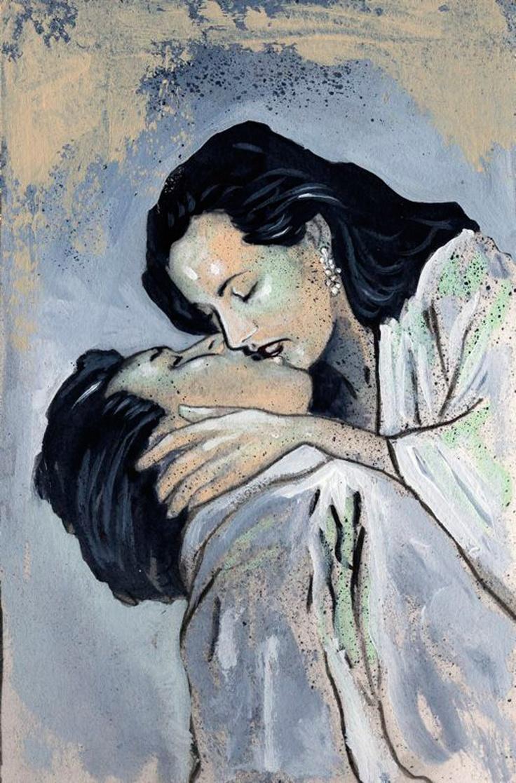 hugs and kisses too