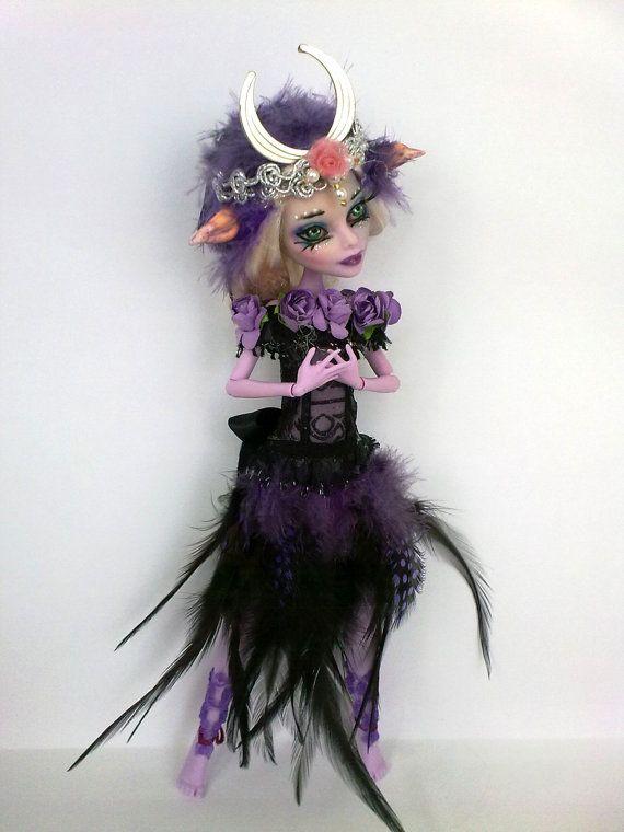 Monster High repaint, Monster High custom, Monster High OOAK, Operetta repaint, Kalle