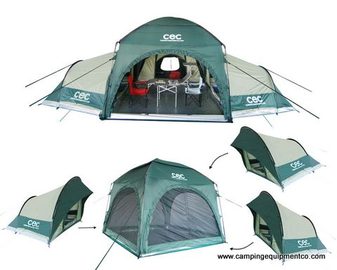 The C&ing Equipment Company Australia Modular Tent System (MTS)  sc 1 st  Pinterest : best family tents australia - memphite.com