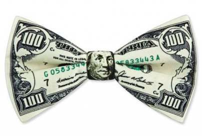 Origami bow tie dollar bills 58 Best Ideas