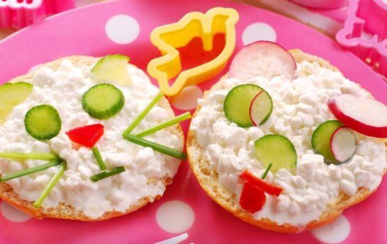 Ponte creativo en la cocina. si los niños no quieren comer los ...
