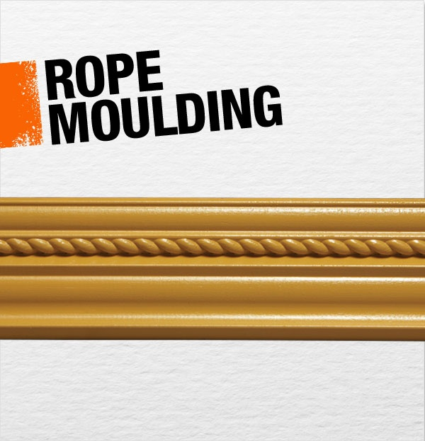 Rope Moulding Refers To The Twisted Rope Shape Used In
