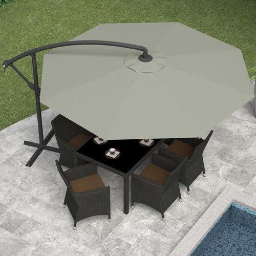 10' Offset Patio Umbrella | Wayfair