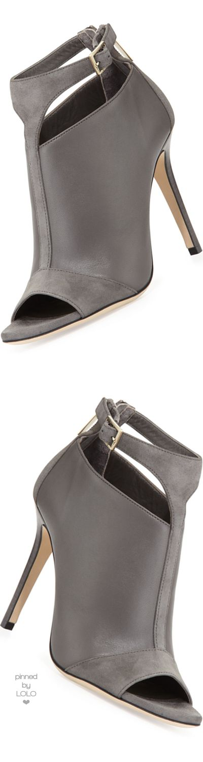Jimmy Choo  Viana Leather Ankle Bootie | LOLO❤︎