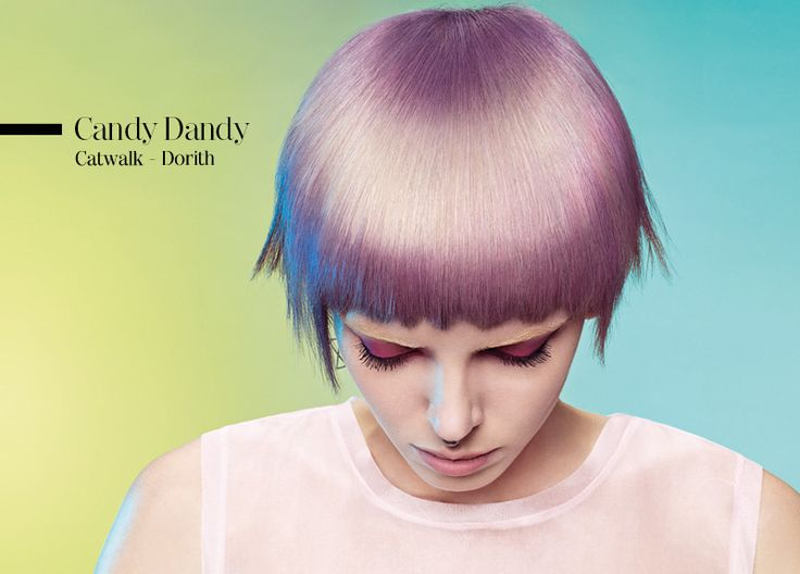 Schwarzkopf Essential looks 2014 spring/summer: Candy Dandy               New color technique: light lining