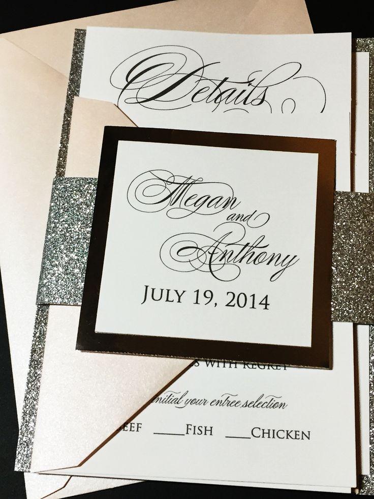 The 25+ best Wedding invitations ideas on Pinterest   Writing ...
