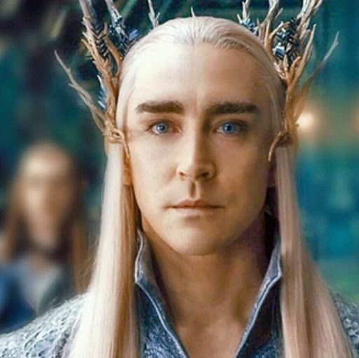 The Bluest Eyes of Thranduil, King of the Woodland Realm.