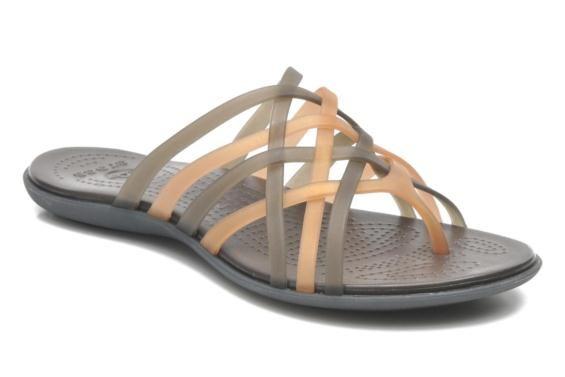 Crocs Huarache Flip Flop Women Clogs og træsko 3/4 billede