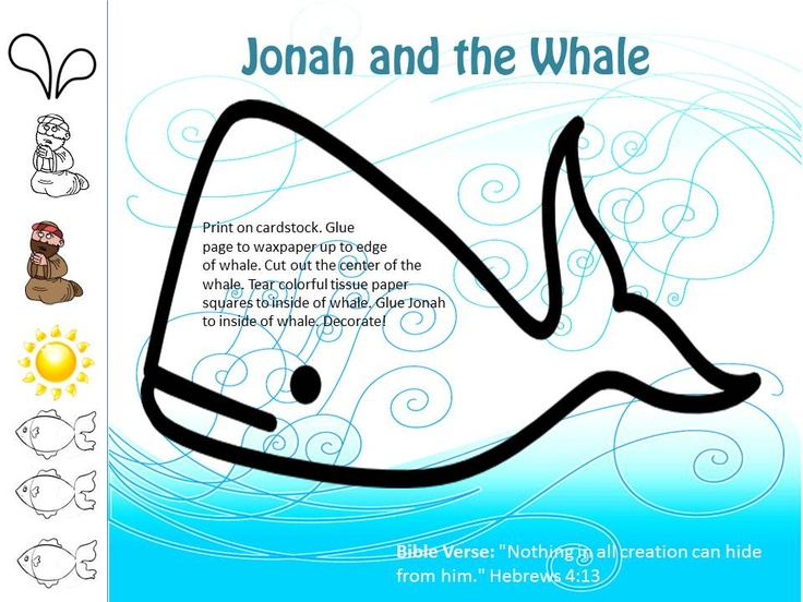 Jonah And The Whale Based On Idea From Almostunschoolers