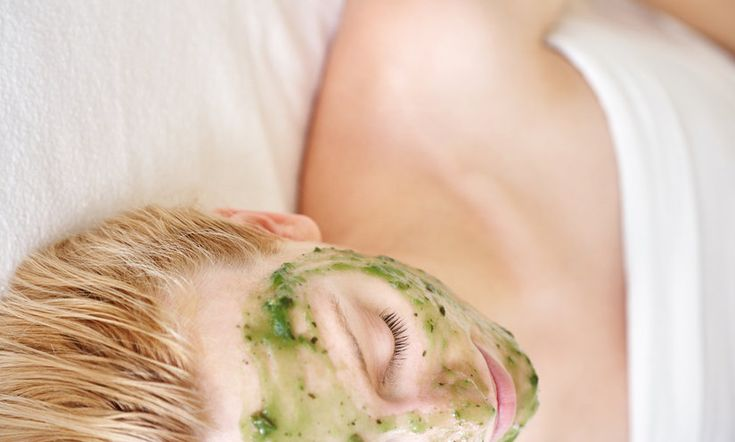 Healing and Calming DIY Herbal Face Mask