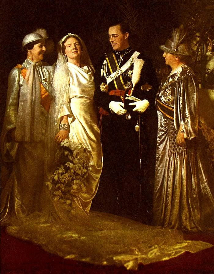 Wedding of Crown Princess Juliana of the Netherlands & Prince Bernhard of Lippe-Biesterfeld