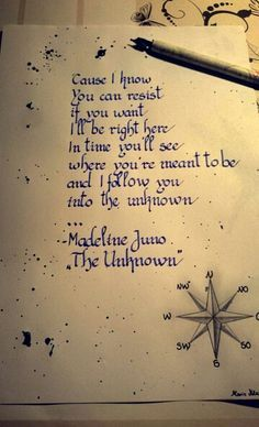 "Madeline Juno - ""The Unknown"" ❤"