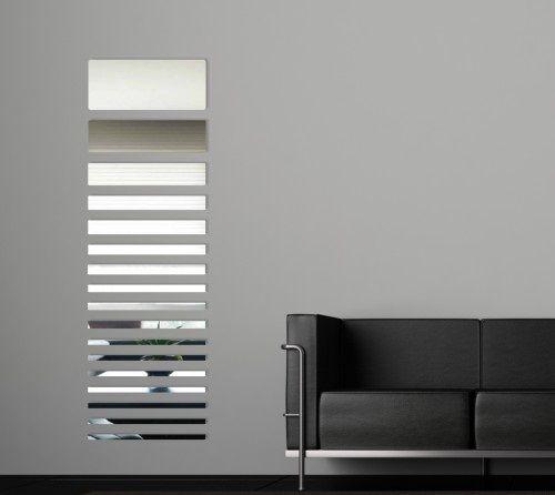 Moderné dekoračné zrkadlové nálepky na stenu