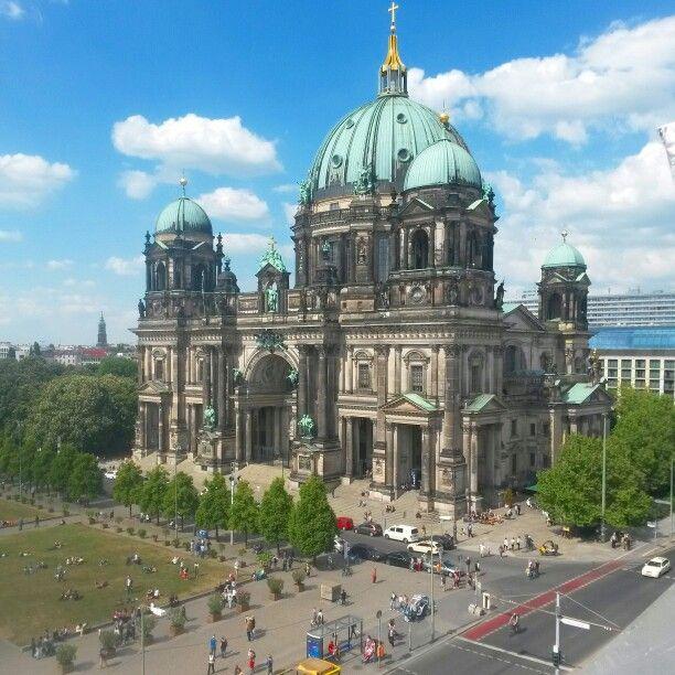 Berliner Dom - Blick von der Humboldt-Box