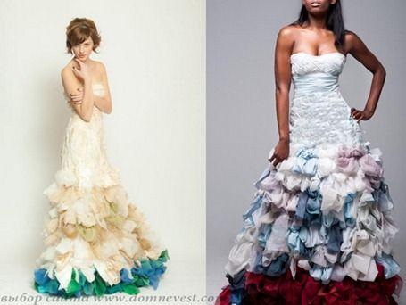 цветные свадебные платья от chrissi wai-ching