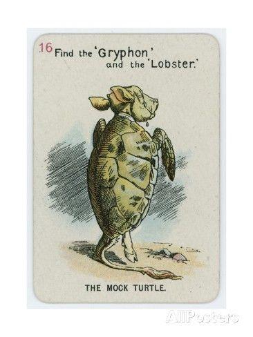 The Mock Turtle Giclee Print