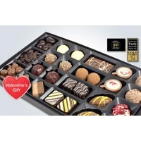 Valentine's selection of gourmet chocolates from Experience Frenzy