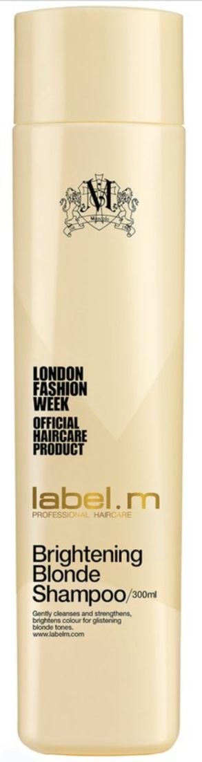 label.m brightening blonde shampoo is perfect paired with the brightening blonde conditioner to make your blonde locks #brighter and #better