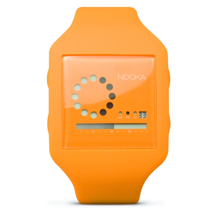 Nooka Zub Zirc 20 - Neon Orange [GS-nookazz20nor] - $129.00 - GSelect - Gifts for Men. Unique, Cool Gift Ideas and Presents: Gift Ideas, Cool Watches, Neon Orange, Zub Zirc, Orange Gs Nookazz20Nor, Nooka Watch, Nook Tooth, 20 Zirc