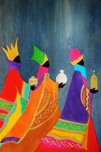 Pinzellades al món: Els tres Reis Mags, il·lustracions / Los tres Reyes Magos, ilustraciones /Tthe Three Kings, illustrations