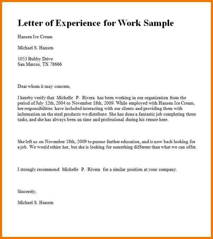How To Write Letter Working Experience Google Search Writing A