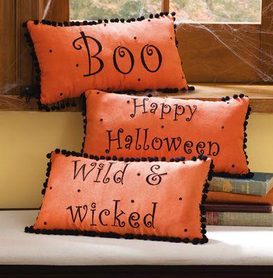 Halloween Decorative Accent Pillow Set