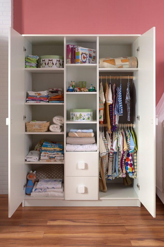 Polly wardrobe with huge storage capacity / Polly szekrény hatalmas tárolókapacitással