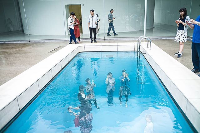 The Swimming Pool Illusion By Leandro Erlich 21st Century Museum