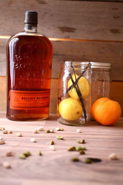 Cardamom-Vanilla Bourbon with Citrus